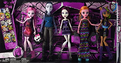Monster High Maul Monsteristas Deluxe Doll 5-Pack: Amazon.es ...