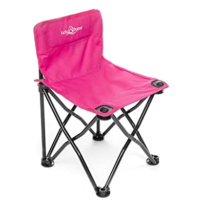Lucky Bums Lightweight Foldable Durable Compact Kids Camp Chair, Pink : Childrens Outdoor Chairs : Sports & Outdoors