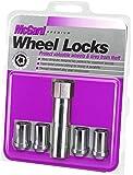McGard 25254 Chrome Tuner Style Cone Seat Wheel Locks (M12 x 1.25 Thread Size) - Set of 4