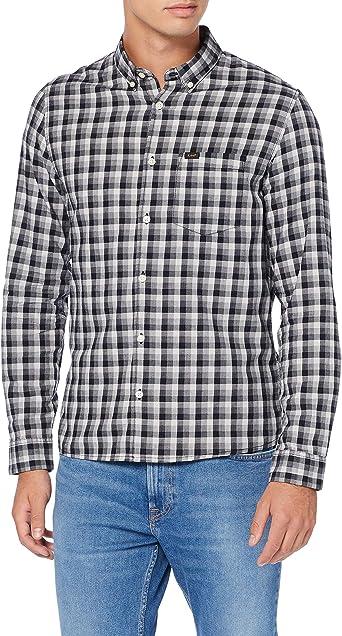 Lee Slim Button Down Camisa para Hombre: Amazon.es: Ropa y accesorios