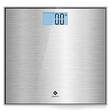 Etekcity Stainless Steel Digital Body Weight Bathroom Scale, Step-On Technology, 400 Pounds
