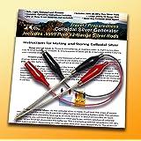 Make Colloidal Silver Generator Machine Economy Combo Kit Includes .9999 Percent Pure 12-Gauge Wire