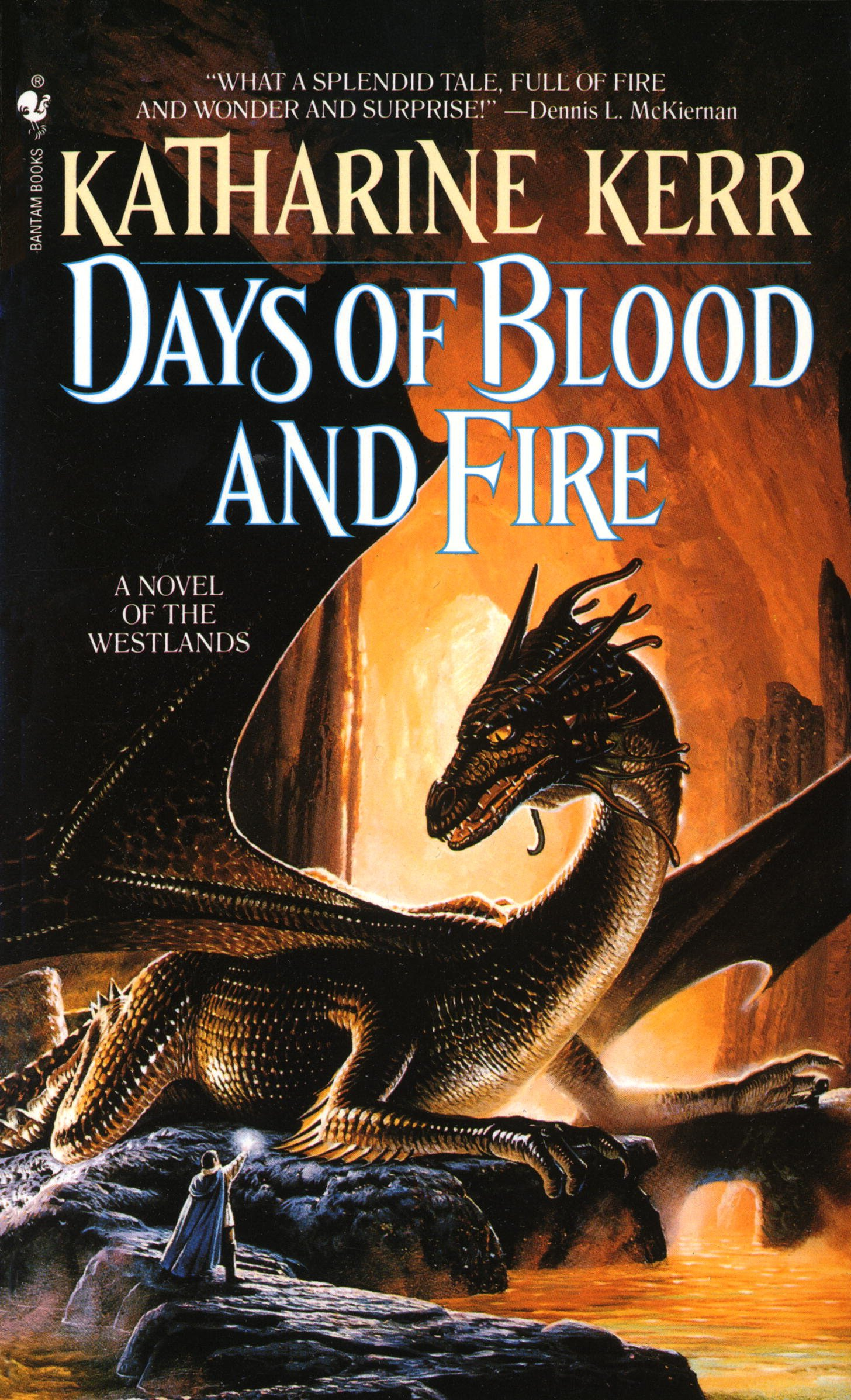 Days of Blood and Fire (The Westlands Book 3) por Katharine Kerr
