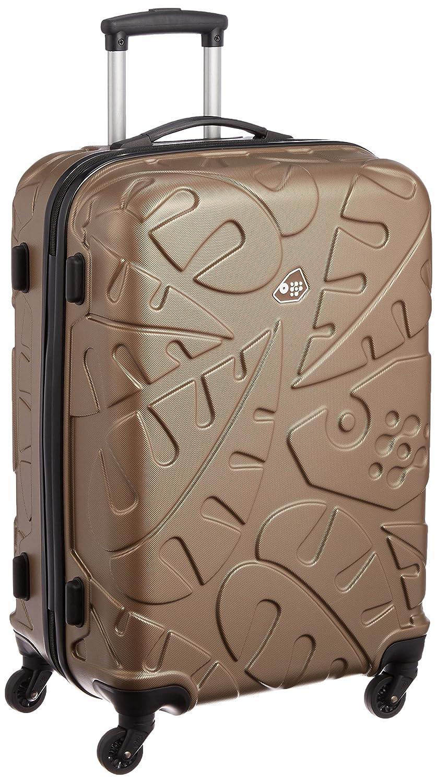 [カメレオン] スーツケース ピナード 66L 保証付 B01M3TIUC9 ワームグレー ワームグレー