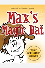 Max's Magic Hat: with crazy, embedded text Kindle Edition