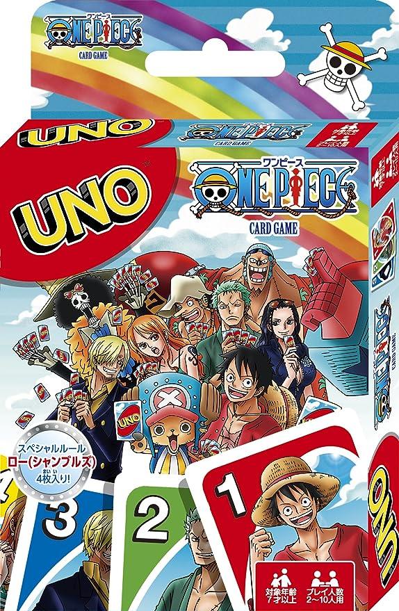 One Piece Uno Juego de Cartas (Instrucciones sólo en Japonés): Amazon.es: Videojuegos