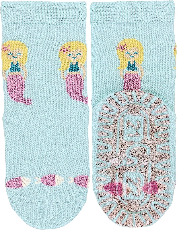 Sterntaler Baby M/ädchen Glitzer Flitzer Sun Meerjungfr Socken Herstellergr/ö/ße per pack T/ürkis , Hellt/ürkis 400