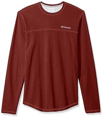 Columbia Men's Rugged Ridge Long Sleeve Crew Shirt at Amazon Men's Clothing  store: