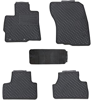 Grey with Red Trim Connected Essentials 5033786 Tailored Heavy Duty Custom Fit Car Mats Premium 2014- for Mitsubi Outlander
