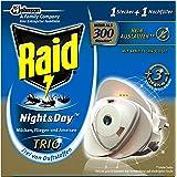 Raid Night & Day Trio Insektenstecker 1 Stecker und Nachfüller, 1er Pack