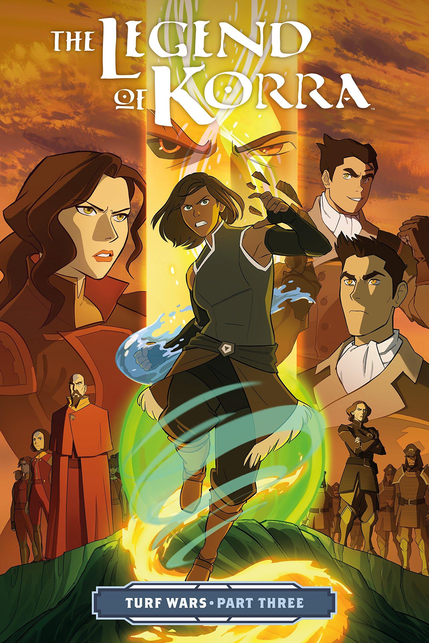 The Legend of Korra: Turf Wars Part Three: DiMartino, Michael Dante, Koh,  Irene, Ng, Killian: 9781506701851: Amazon.com: Books