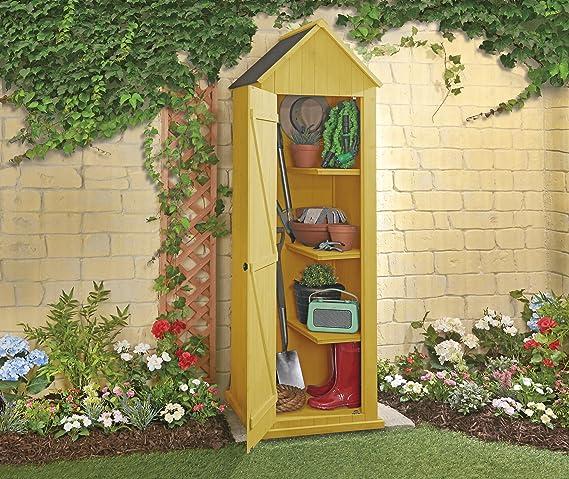 Clifford James De Madera, diseño de caseta de Playa al Aire Libre jardín caseta de Sentry. De Madera de Almacenamiento: Amazon.es: Hogar