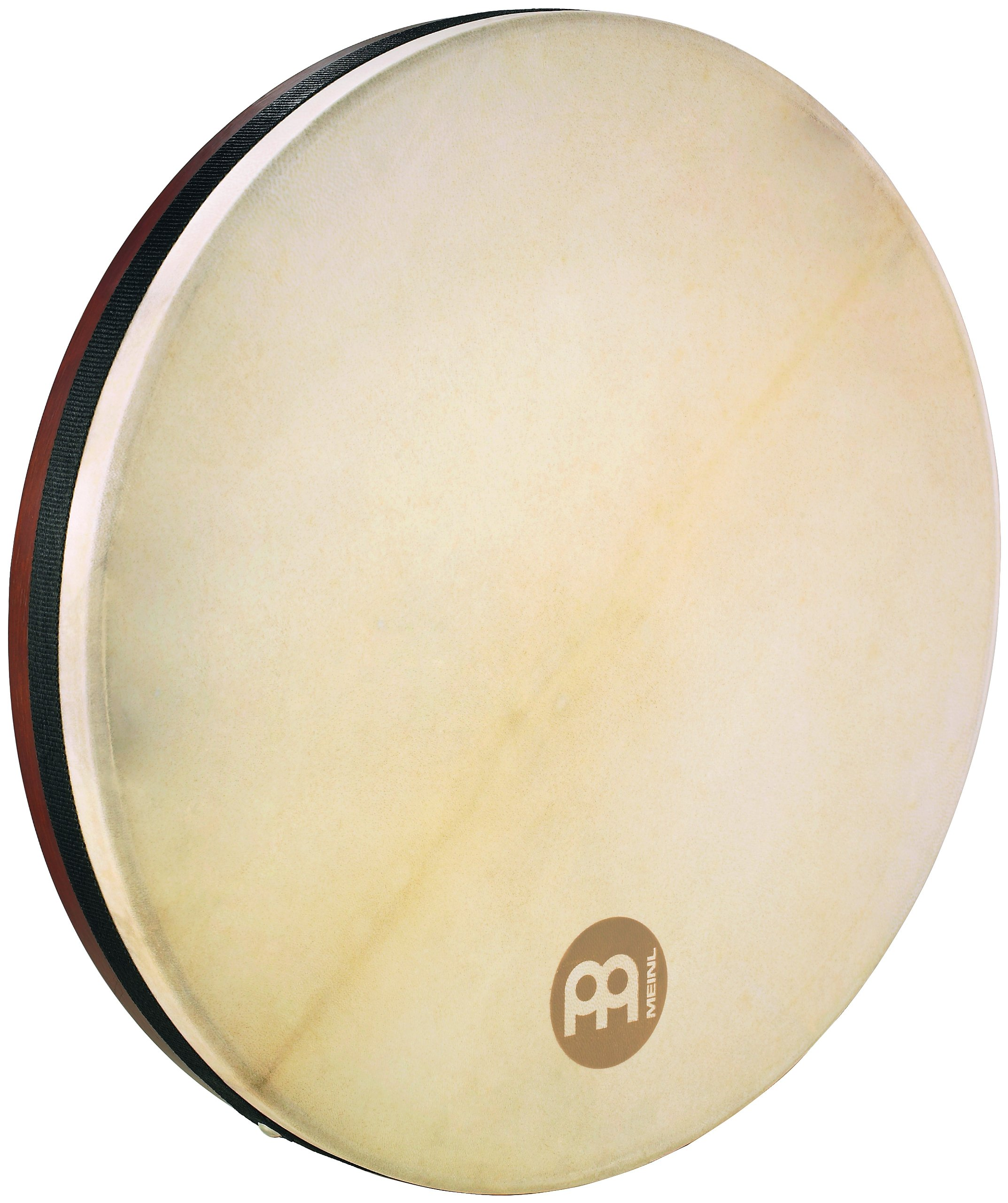 Meinl Percussion 18'' Frame Drum, Tar - NOT MADE IN CHINA - Goat Skin Head, African Brown Finish, 2-YEAR WARRANTY (FD18T) by Meinl Percussion