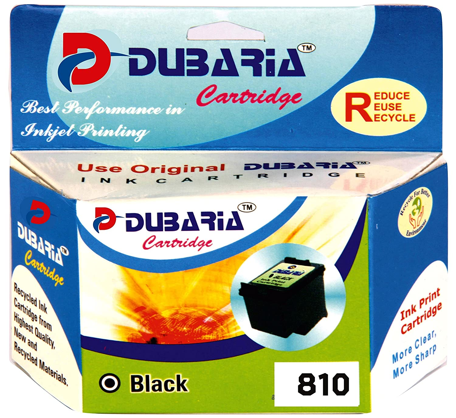 Buy Dubaria 810 Toner Cartridges For Canon Black Online Ready Cartridge Ori At Low Prices In India Reviews Ratings