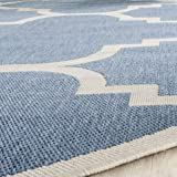 Safavieh Courtyard Collection CY6243-243 Blue and