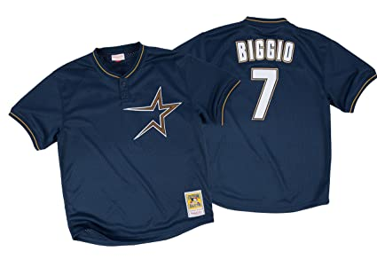 meet 06920 c0fc9 Amazon.com : Mitchell & Ness Craig Biggio Houston Astros ...