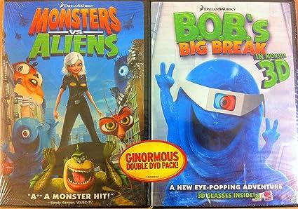 Monsters Vs Aliens: Ginormous Double Dvd Pack Reino Unido: Amazon.es: Cine y Series TV