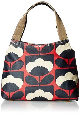 Orla Kiely Poppy Spring Bloom Classic Zip Shoulder Bag  Handbags ... 847ac171cdb35