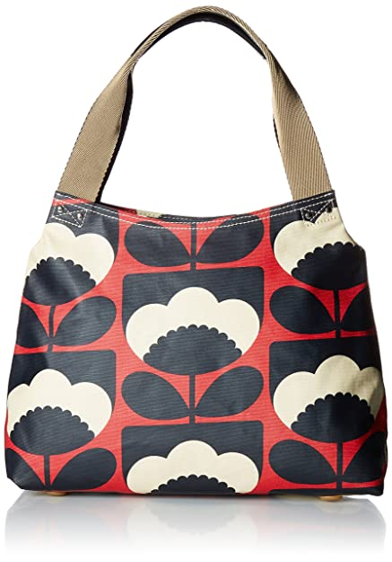Orla Kiely Women s Classic Zip Shoulder Bag Handbag b54763396bfa9