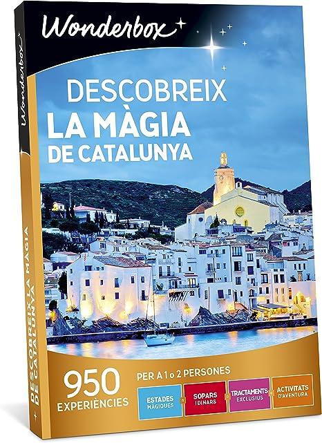 WONDERBOX Caja Regalo -DESCOBREIX LA MÀGIA DE Catalunya- 950 ...