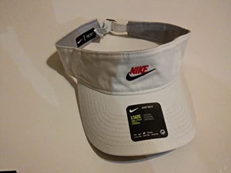 0bff7e4994955 Image Unavailable. Image not available for. Color  Nike Unisex Adjustable  Closure Golf Running Visor ...