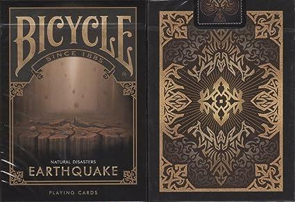 Amazon.com: Terremoto bicicleta Juego de cartas poker Size ...