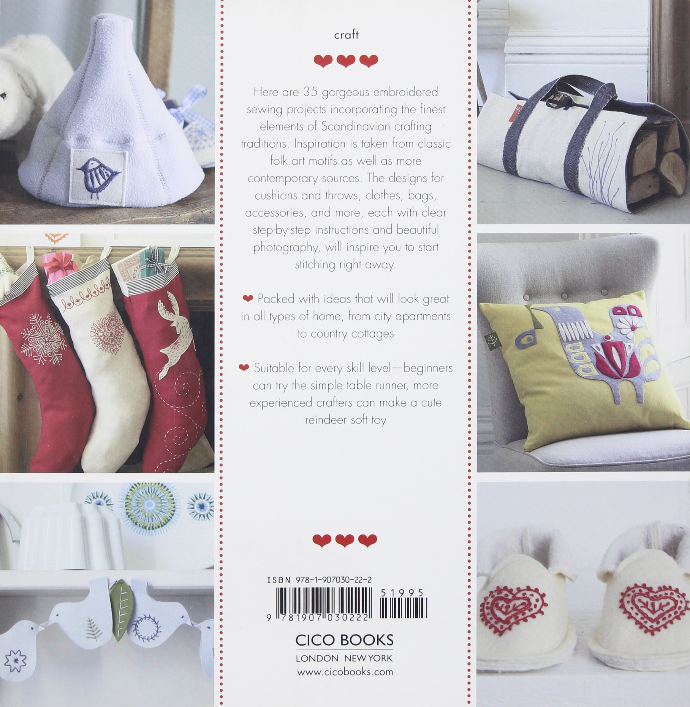 Scandinavian Needlecraft 35 Step By Step Projects To Create The