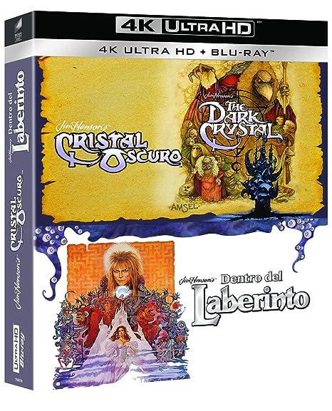 Pack Henson: Cristal Oscuro + Dentro Del Laberinto 4K UHD + BD Blu ...