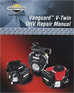 amazon com briggs stratton 273521 intek v twin ohv repair manual rh amazon com 12H802 Manual Repair Manuals Yale Forklift