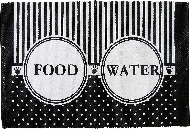 """Park B. Smith Food/Water Pet Mat, 13"""" x 19"""""""