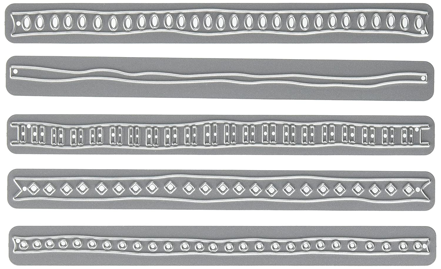 Elizabeth Craft Designs 1122 Elizabeth Craft Metal Die-Ribbons 1, 6 6 Notions
