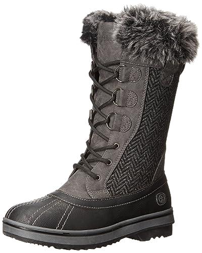 bdba7e0c7e6 Northside Women s Bishop Snow Boot Charcoal 9 ...