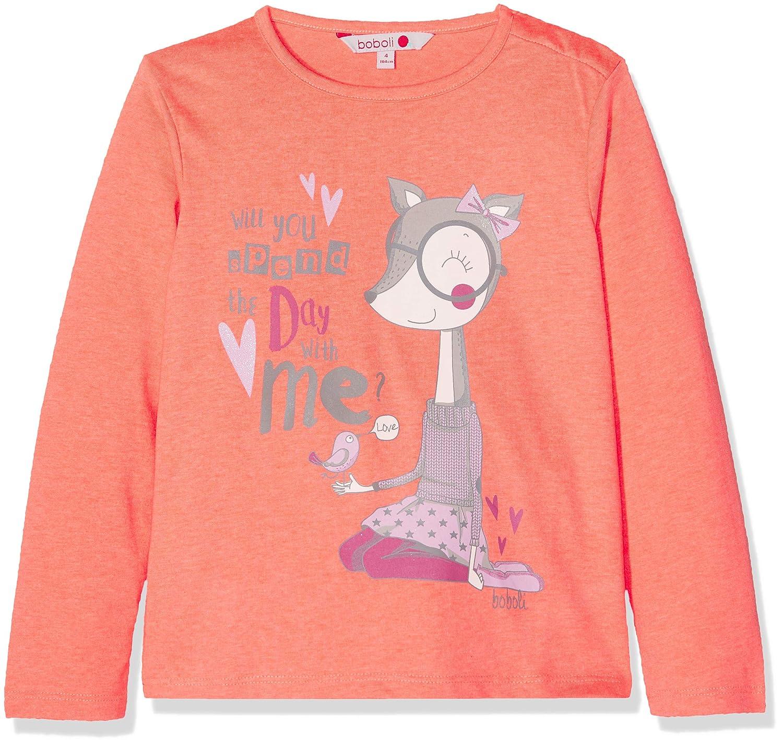 boboli Knit T-Shirt For Baby Girl Camiseta, Naranja (Ofluor 5071 ...