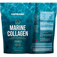 Premium Marine Collagen Peptides - from Wild Caught Fish Skin (Not from Scales)...