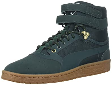 PUMA Men's Sky II Hi Weatherproof Sneaker, Green Gables-Green Gables, ...