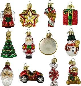 Old World Christmas Mini Christmas Set of 12, 1