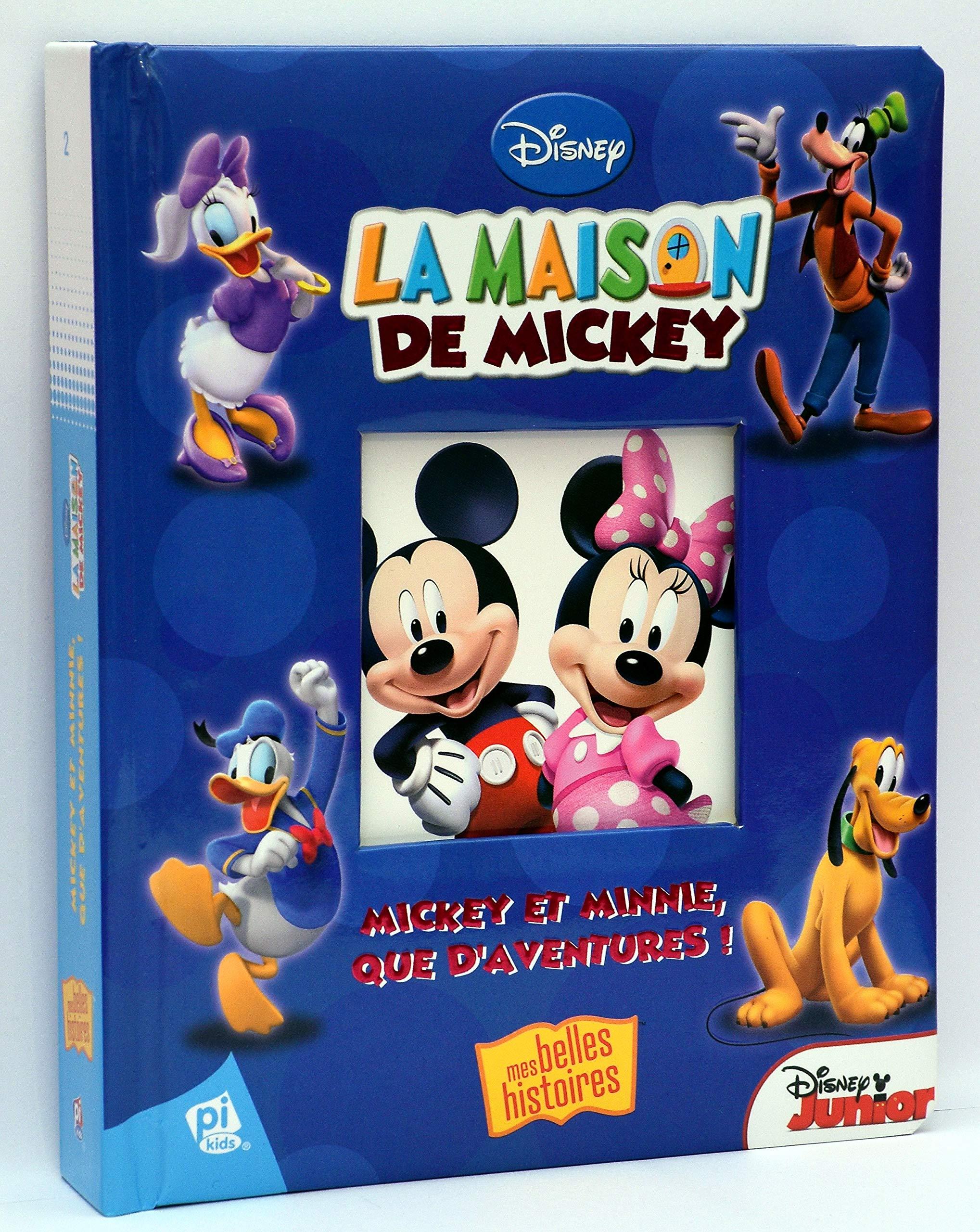 Amazon fr la maison de mickey mickey et minnie que daventures disney junior livres