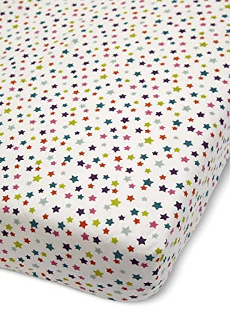 Charmant Mamas U0026 Papas Timbuktales Cot/Bed Fitted Sheets Print 70 X 142 Cm   Pack