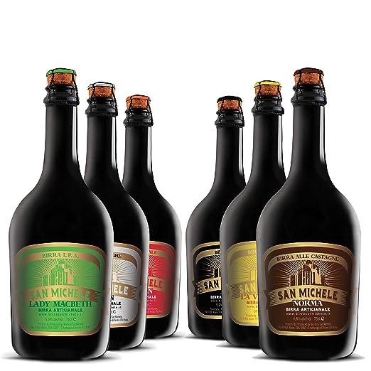 1 opinioni per Scatola 6x0,75L Birra Artigianale San Michele- Selezione assortimento 6 diversi