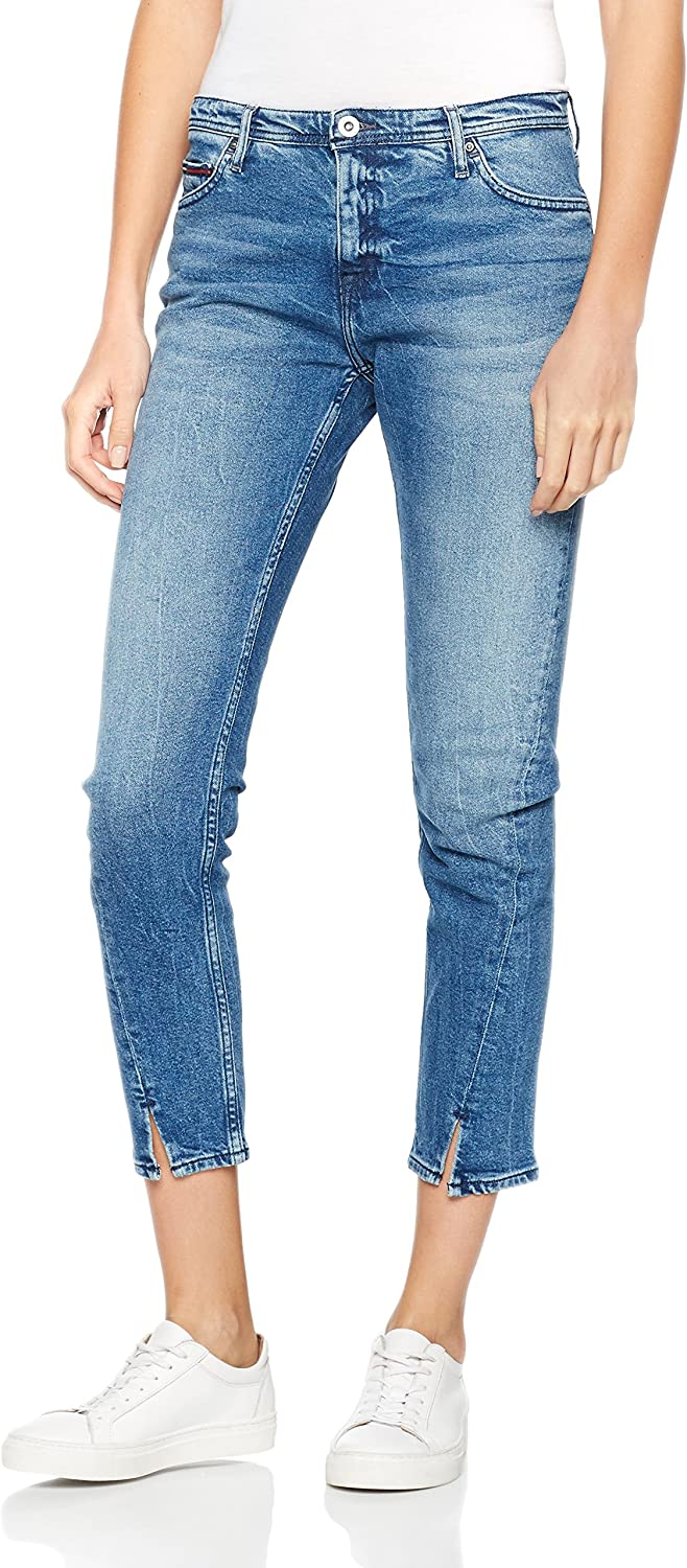 Tommy Jeans Twisted Cropped Lana Dubst Vaqueros para Mujer