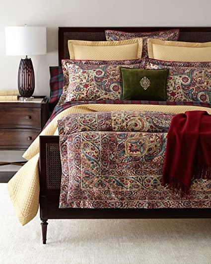 ralph lauren duvet cover Amazon.com: Ralph Lauren Bohemian Muse Larson Duvet Cover, Full  ralph lauren duvet cover