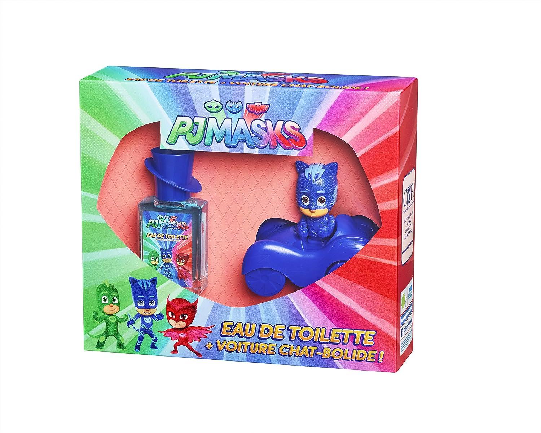 Pyjamasques Coffret Parfum Enfant PJMASKS eau de toilette + voiture chat-bolide (licence FRANCE TV DISTRIBUTION) CEP Parfums