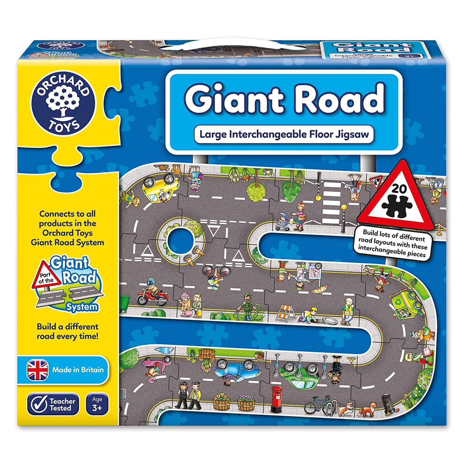 Giant Road Jigsaw Floor Puzzle (20 Piece)