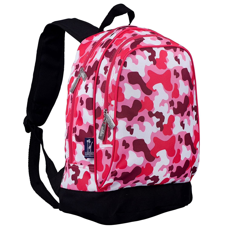 Wildkin Watercolor Ponies Pink Sidekick Backpack, One Size 14310