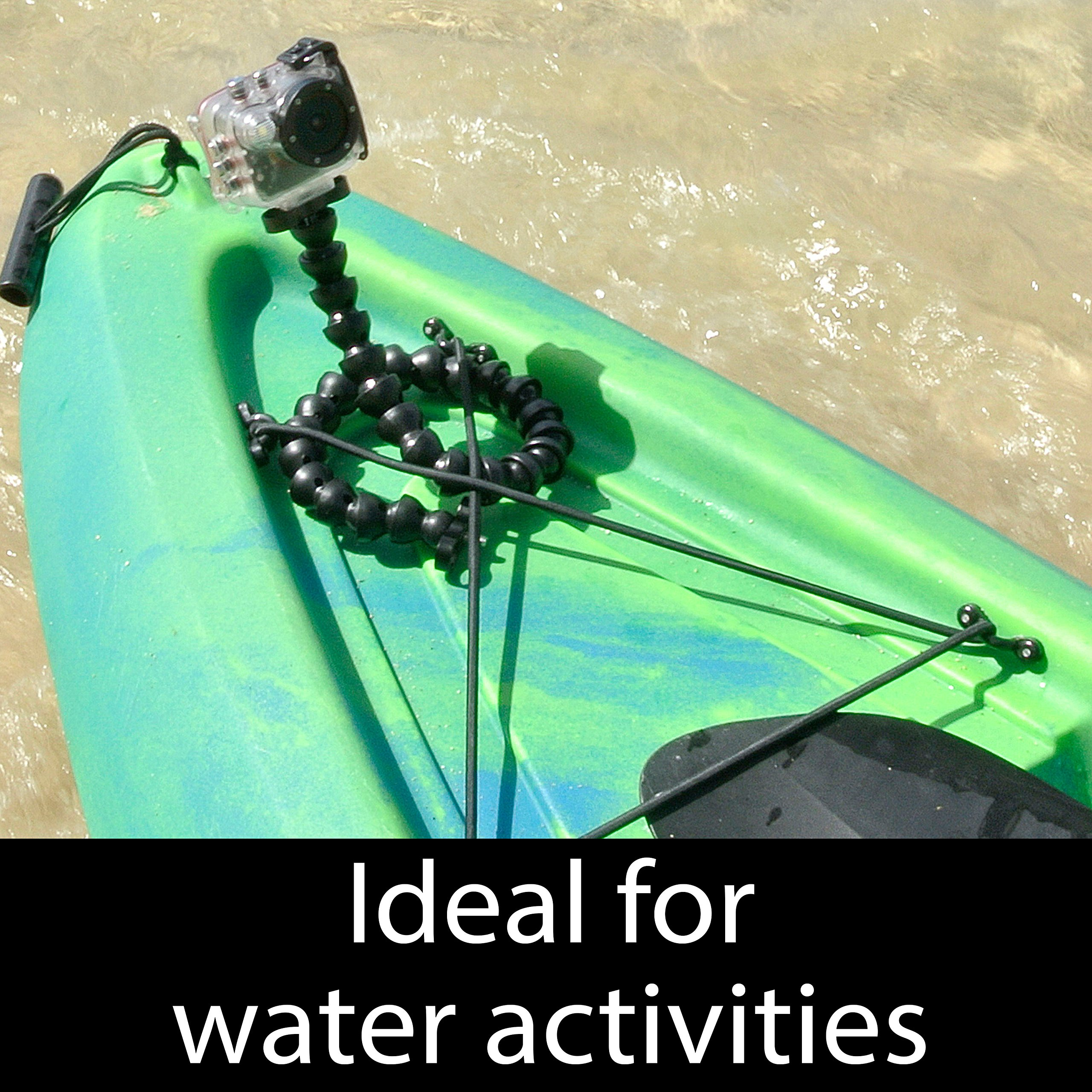 Intova HD2 Waterproof 8MP Action Camera with Built-in 150-Lumen Light and Remote Control by Intova (Image #8)