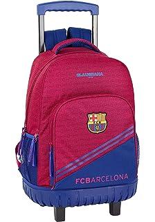 Safta Mochila F.C. Barcelona 17/18 Oficial Escolar Con Carro ...