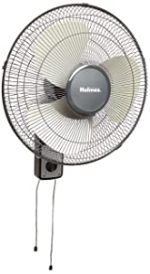 Holmes Oscillating Wall-Mountable Fan, 16 Inch (HMF1611A-UM)