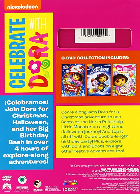 Amazoncom Dora the Explorer Celebrate With Dora Artist Not