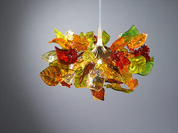Colorful Pendant Light   Flower Ceiling Lights   Decorations For Living Room    Dining Room And