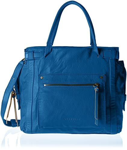 Liebeskind Berlin Damen Virginia Sporty Schultertasche, Blau (Electric  Blue), 42x45x14 cm 49199c9226